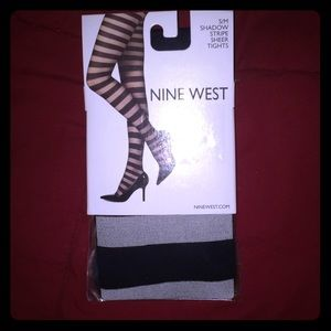 3/$15. Nine west striped tights